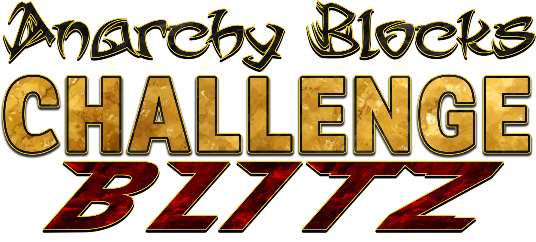 Anarchy Blocks Challenge Blitz Logo